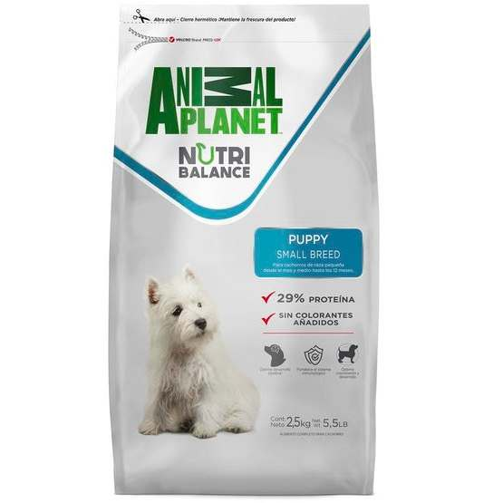 Animal Planet Dog Puppy Small Breed 2,5 KG