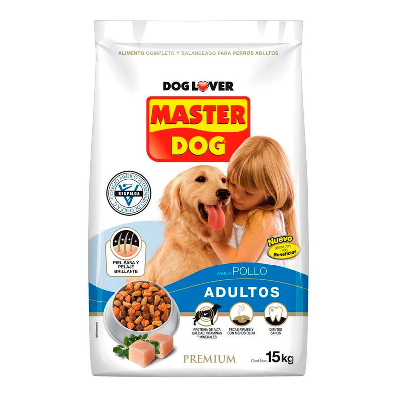 Master Dog Adulto Pollo 18 KG