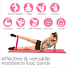 5PCS Resistance Bands Home Fitness Set