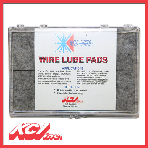 Wire Lubepads (Packs of 6)