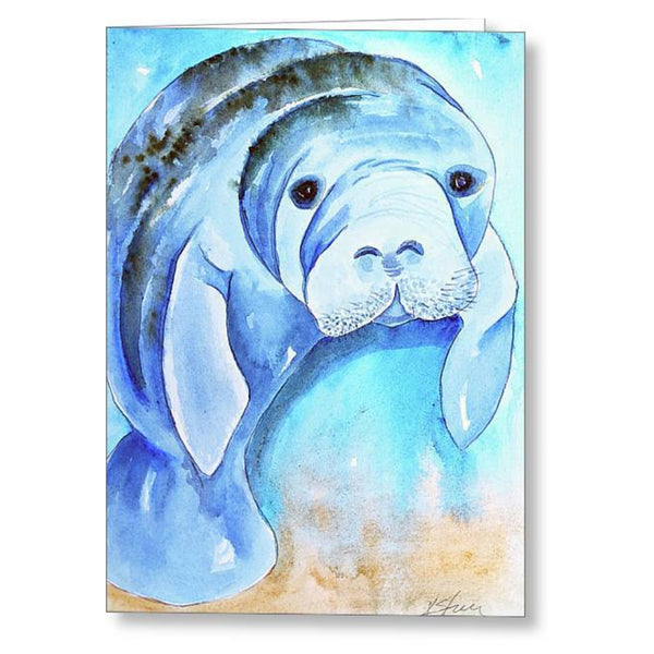 Miles Manatee - Greeting Cards