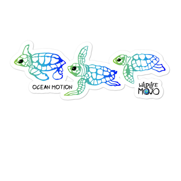 Sticker Ocean Motion