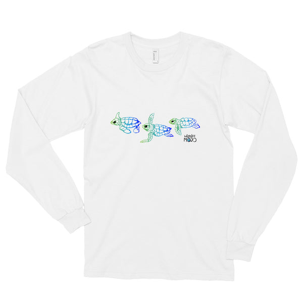 Ocean Motion Long Sleeve Tee