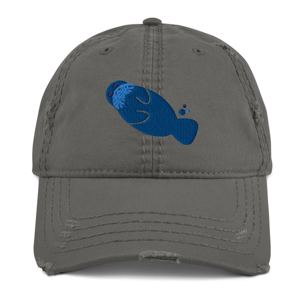 Distressed Manatee Hat