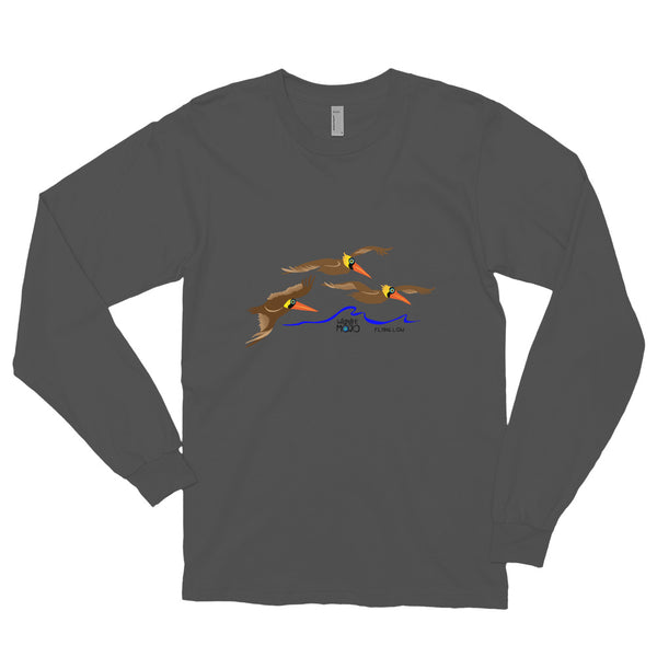 Flying Low Long Sleeve Tee