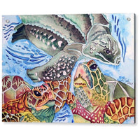 Sea Turtles - Acrylic Print