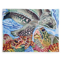 Sea Turtles - Blanket