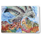 Sea Turtles - Greeting Cards