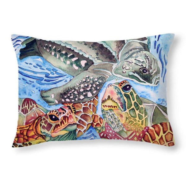Sea Turtles - Throw Pillow