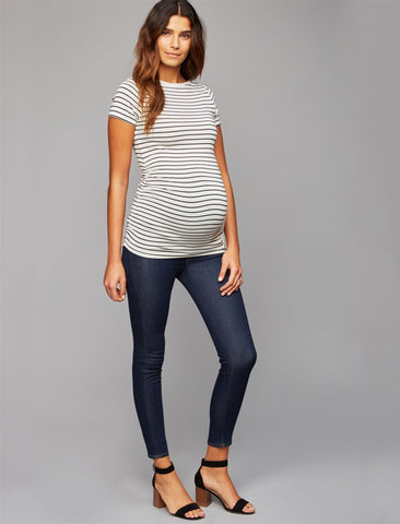 Citizens of Humanity Secret Fit Belly Avedon Ankle Maternity Jeans- Ozone
