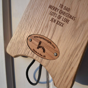 'Top Fells' Boot Jack - 10 Lakeland favorites and have your personal message on the underside