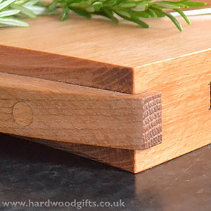Chopping Board - beech with oak handles