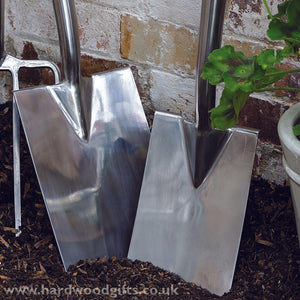 Stainless Steel Spade & Fork Set