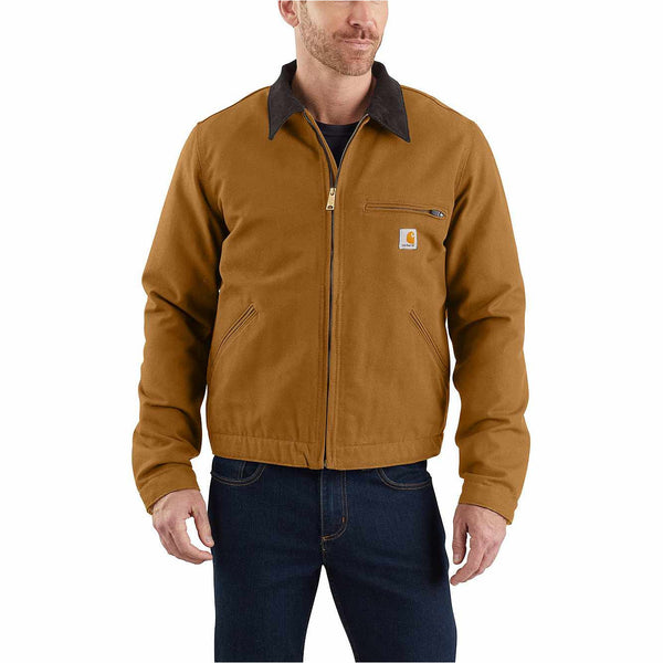 Carhartt Detroit Jacket Hamilton Brown at TailorOfBlue.ie