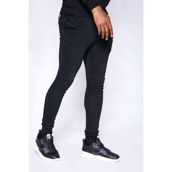 11 Degrees Core Skinny Fit Joggers Black at TailorOfBlue.ie