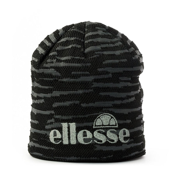 Ellesse Garral Beanie Hat Black/Grey at TailorOfBlue.ie