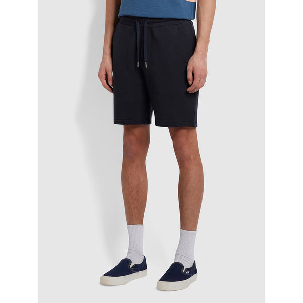 Farah Durrington Organic Cotton Jersey Shorts True Navy
