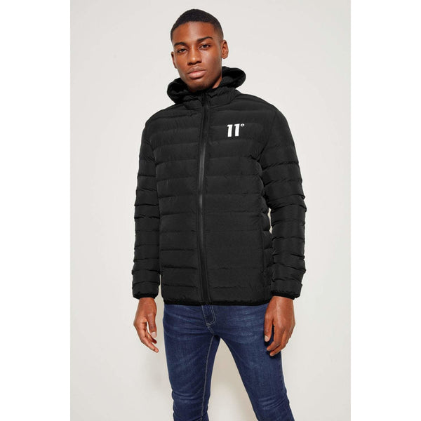 11 Degrees Space Jacket Black at TailorOfBlue.ie