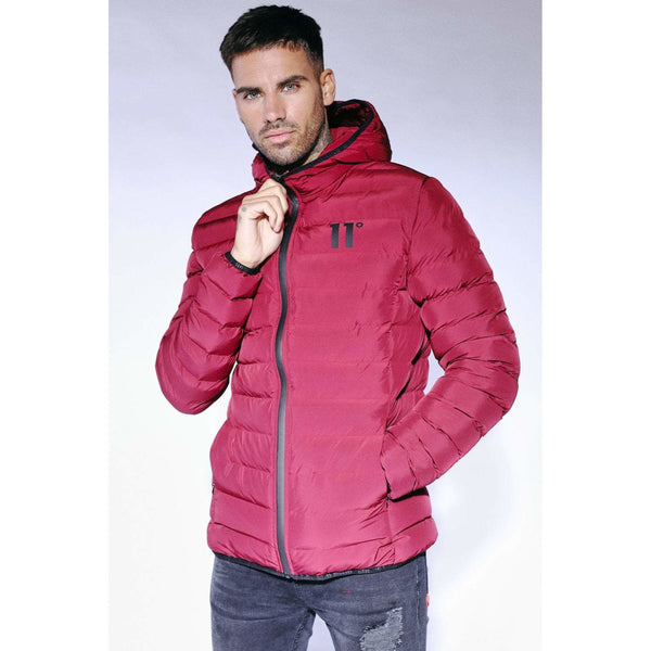 11 Degrees Space Jacket Pomegranate at TailorOfBlue.ie