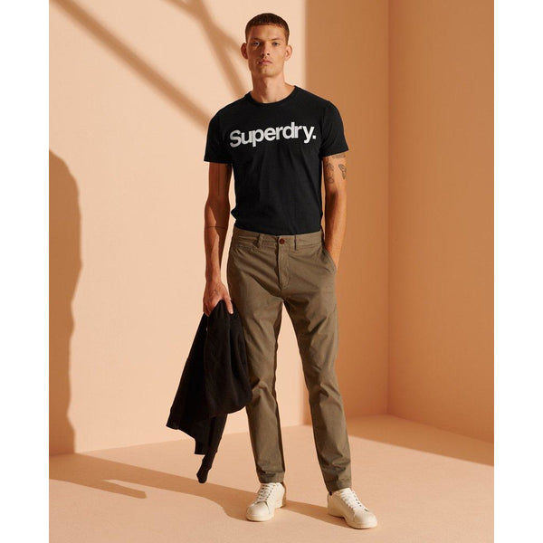 Superdry Core Studio Logo T-Shirt Black at TailorOfBlue.ie