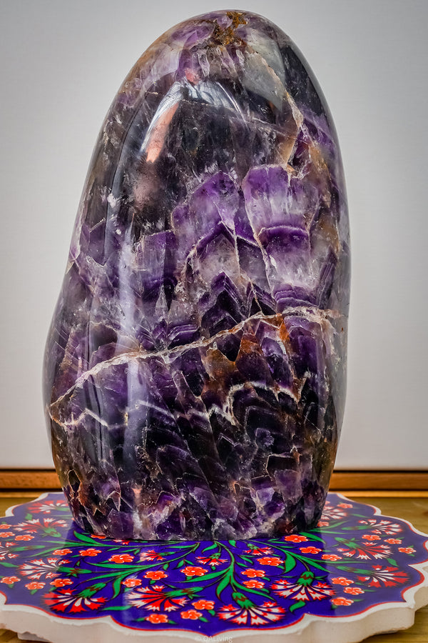 FREEFORM AMETHYST CHEVRON - OA LIVING