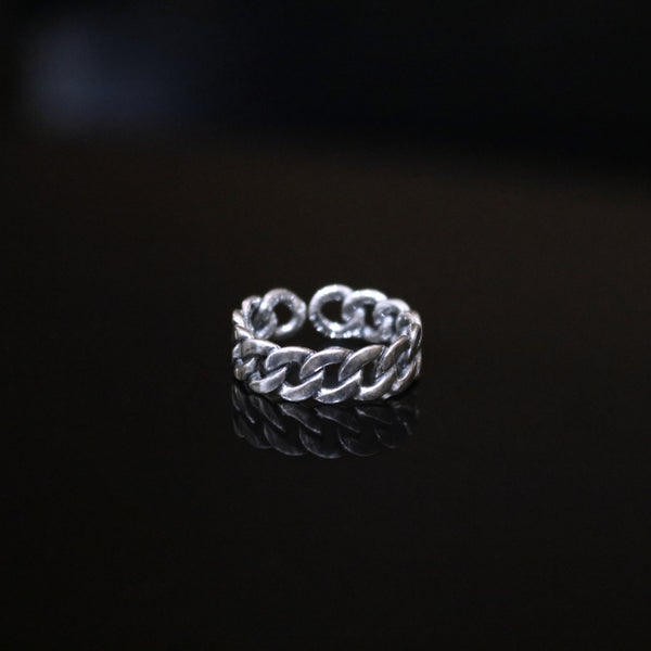 CUBAN RING - SILVER