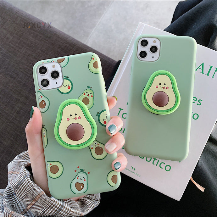 Coque iPhone avec support 3D avocat