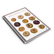 Load image into Gallery viewer, Spiral Notebook - NYC Bagel Choir - ARTSY STYLE
