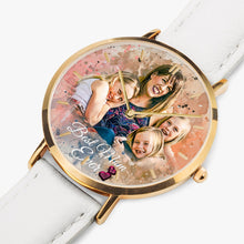 Load image into Gallery viewer, 164. Sample Best Mom Hot Selling Ultra-Thin Leather Strap Quartz Watch (Rose Gold With Indicators) - ARTSY STYLE