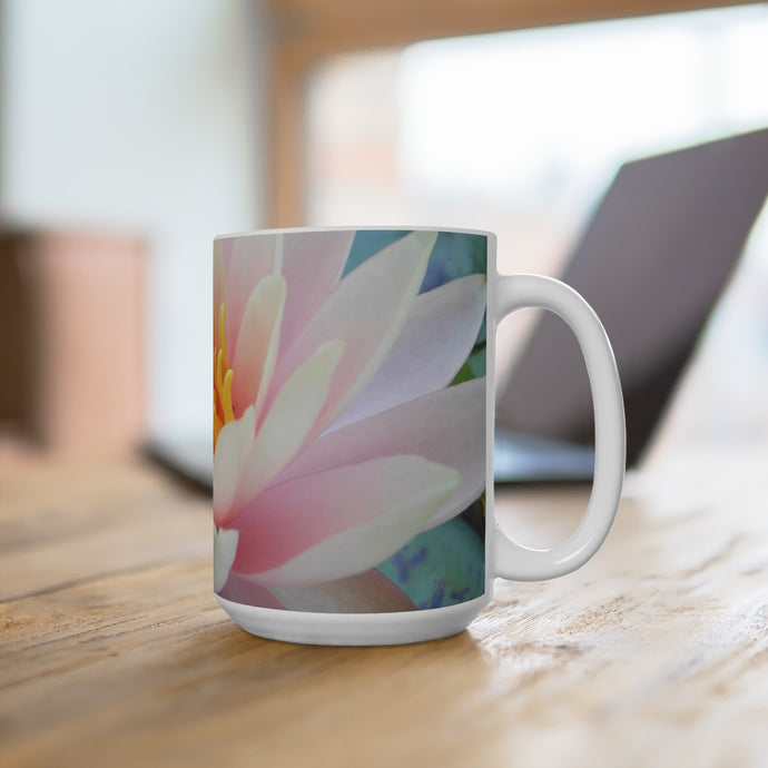 Mug Water Lily Image from Brooklyn Botanic Gardens, NYC 15oz - ARTSY STYLE