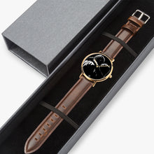 Load image into Gallery viewer, Lady G & Brad 1-27 Hot Selling Ultra-Thin Leather Strap Quartz Watch (Rose Gold) - ARTSY STYLE