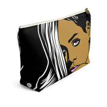 Load image into Gallery viewer, Ms. Rih - Accessory Pouch w T-bottom - ARTSY STYLE