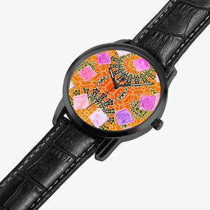 265. Watches of Love design - Wide Type Quartz watch - Tribal - ARTSY STYLE