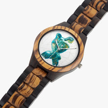 Load image into Gallery viewer, 207. Indian Ebony Wooden Watch - ARTSY STYLE