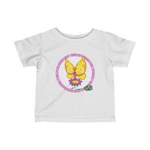Infant Tee Featuring Super B! The Try, Try Butterfly looking Adorable (6-24mth) - ARTSY STYLE