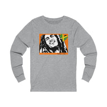 Load image into Gallery viewer, Unisex Bob Jersey 2-sided - Feelin' Irie -  Long Sleeve Tee - ARTSY STYLE