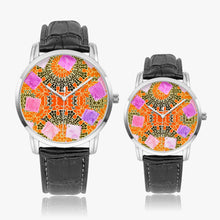 Load image into Gallery viewer, 265. Watches of Love design - Wide Type Quartz watch - Tribal - ARTSY STYLE