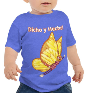 """Dicho y Hecho"" / ""I Got This"" Infant Jersey Short Sleeve Tee - Size 6-24mth - ARTSY STYLE"