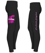 "Load image into Gallery viewer, ""It's Time / for Females Everywhere"" Women's Leggings - ARTSY STYLE"