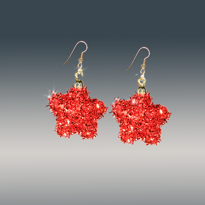 Glamor & Fun Holiday Earrings - ARTSY STYLE