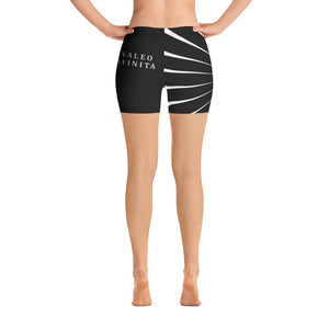 """Valeo Infinitus!"" Infinite Power to Women Bike Shorts - ARTSY STYLE"
