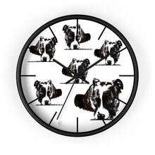 Load image into Gallery viewer, Thelma Wall clock - multi image design - ARTSY STYLE