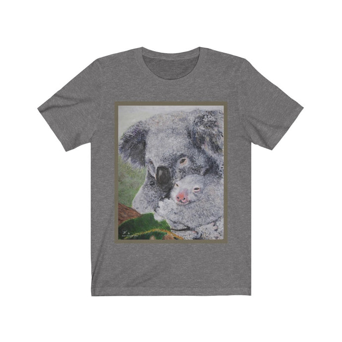 Koala Fine Art Unisex Tee (design in color) - ARTSY STYLE