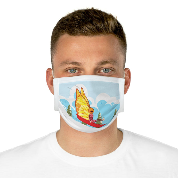 Fun Super B!  Cotton Face Mask (EU) - ARTSY STYLE