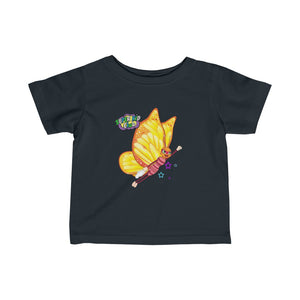 Super B! with Tissue - Infant Fine Jersey Tee - ARTSY STYLE