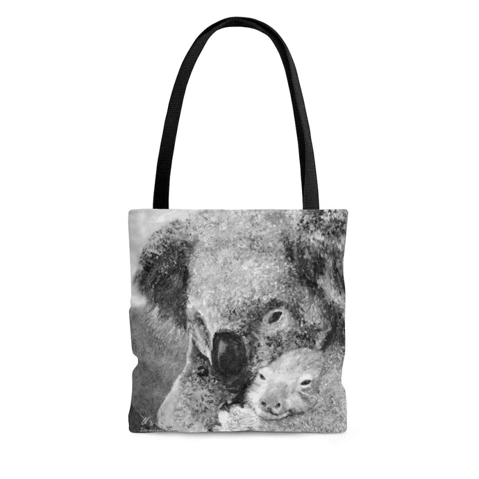 2-sided Aussie Koala Painting - Fine Art Tote ** - ARTSY STYLE