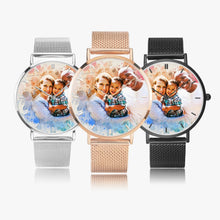 Load image into Gallery viewer, Bigger biracial fam 170. Fashion Ultra-thin Stainless Steel Quartz Watch (With Indicators) - ARTSY STYLE