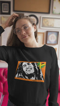 Load and play video in Gallery viewer, Unisex Bob Jersey 2-sided - Feelin' Irie -  Long Sleeve Tee