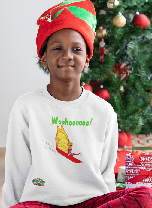 Kids' Wahoooo Sweatshirt!   (Not just for kids...adult sizes too!) - ARTSY STYLE