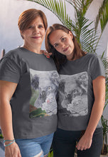 Load image into Gallery viewer, Koala Fine Art Unisex Tee, for any age... wonderful gift item! (b&w version) - ARTSY STYLE
